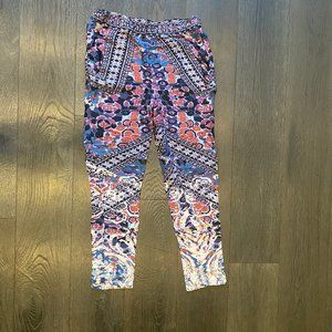 Floral/Multiprint Pants